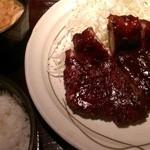 キッチンなごや - 味噌ロースカツ定食(1280円)