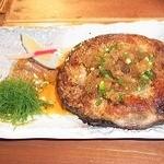 魚大将 うまかっぺや - まぐろステーキ 2012/07