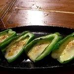 魚大将 うまかっぺや - ピーマンチーズ焼き 2012/07