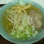 食事処 三平 - 塩ラーメンです(2012年8月)。