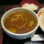 小平うどん - カレーうどん(肉入り)のつけ汁です