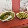 満洲軒 - 料理写真:ラーメンとやきめし(小)