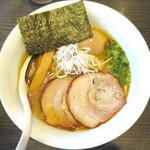 札幌 Fuji屋 - 醤油_850円、味玉_100円