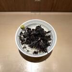 燕三条 豊潤亭 - のり茶めし(170円)