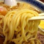 つけ麺 石ばし - 若干細いシコシコもっちりする麺!(2012,08/18)