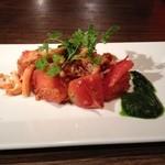 円居 - ズワイガニとトマト