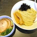 札幌 Fuji屋 - 塩つけ麺_850円、メンマ増し_100円