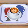 エスエヌエスカフェトーキョー - ドリンク写真:Hot Latte