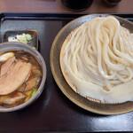 144634219 - 豚バラつけ麺