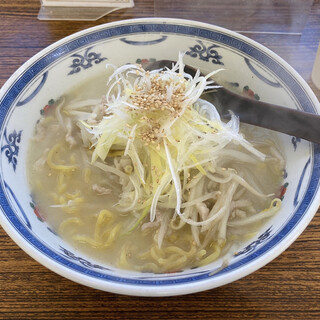 札幌味噌らーめん たら福 - 料理写真:朝ラーメン 塩 ¥600