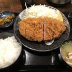 144636525 - ♪上キセキカツ定食300g¥1650