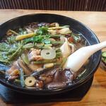 ゑがほ食堂 - 料理写真:山菜きのこそば