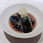 Ponchiken - 茄子の煮びたし 480円