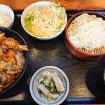 筑前 - 料理写真:天丼セット