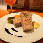 Como食堂 - 2012.8 お肉のテリーヌ(650円)