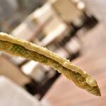 串揚げと和食 もりもと  - アスパラガス:丸々1本。長い!