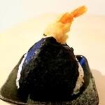 hyakumisensai - えびづくし天むす 210円