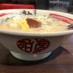 博多辛麺 狛虎 - 料理写真:白辛麺(豆乳ベース)小辛(2辛)900円