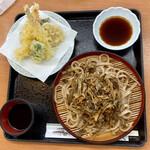 観光会館 安富屋 レストラン - 天ぷらごぼう