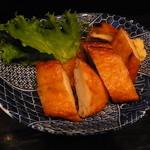 Standing 焼酎 Bar 立 - さつま揚げは串木野産で甘さがまた良し('12/8)