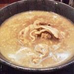 伝丸 - 料理写真:肉玉ラーメン(ネギ抜き)
