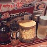 伝丸 - 卓上の香辛料