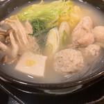 炭火焼鳥と水炊き 五郎一 - 博多水炊き