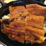 山ばな平八茶屋 - 京地焼 鰻一匹丼