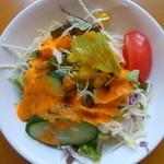 アリ シディーク - セットのサラダ