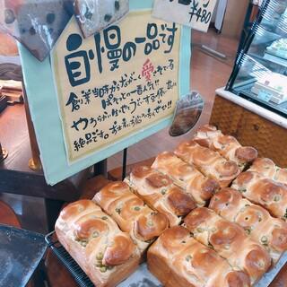 ラ パレット - 料理写真:やっぱり豆パン!