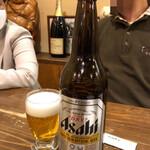 中国料理 相羽 - 瓶ビール