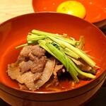 創和堂 - 猪肉とせりのすき焼き