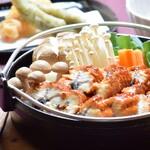奥琵琶湖マキノ グランドパークホテル レストラン竹生 - 鰻じゅんじゅん鍋御膳