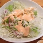 味工房 - カレーについてきたサラダ