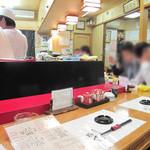 福ずし - 庶民的な街・福岡市早良区西新にあるお寿司屋さんです。お寿司のみならず海鮮系の呑み処・食事処としても利用できます。