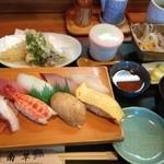 南草 - 寿司定食 1050円
