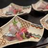花邑 - 料理写真:鮪、〆鯖、鯛のお造り