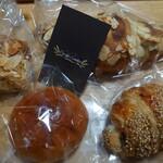 カシュカシュ - 料理写真:パン