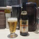蒙古タンメン中本 - 瓶ビール
