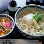 144690686 - ランチバラすし+生醤油うどん大盛 900円(税込)