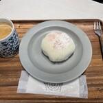 BonBon BERRY cafe - ケーキセット 大福