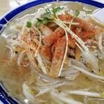 味の三平 - けど辛味噌(鉄火麺)は食べないの!一味