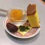長崎トルコライス食堂 - セットのデザート盛り合わせ