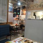 長崎トルコライス食堂 - 店内の様子。だいぶカジュアル。