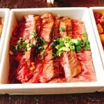 Yakinikuinoue - ハラミたたき丼