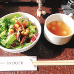 Yakinikuinoue - サラダ・スープ