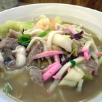 Hisa - 具だくさんチャンポン麺