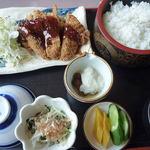 利福 - <2012/08/24>とんかつ定食