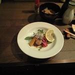 食彩にじ - 牡蠣のソテー