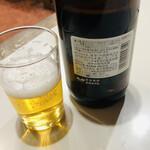 chuukaryourihoumiken - 瓶ビールはアサヒスーパードライの大瓶